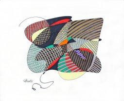 ''8206'' mixed med - paper 17'' x 21'' Pierre Huot