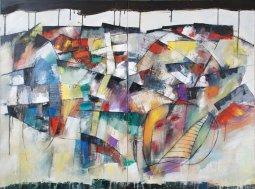 Man's Foley - Acid Rain, oil on canvas by Pierre Huot