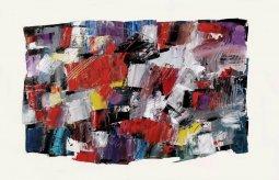 Gems, oil on paper by Pierre Huot (SOLD)
