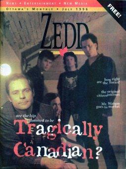 ZEDD 1996 about Pierre Huot artist