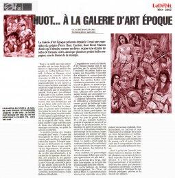 Le Droit: Galerie d'art Époque