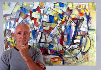 Pierre Huot, Ottawa painter and visual artist